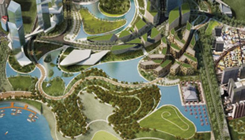 Yongsan International Business District de Séoul, Corée du Sud - Daniel Libeskind