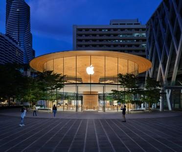 Foster + Partners Apple Central World un nouveau magasin emblématique pour Bangkok