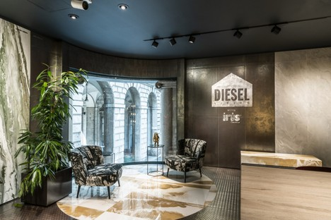 Inauguration du magasin amiral d'Iris Ceramica Group à Milan