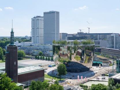 MVRDV fin de la construction du Depot Boijmans Van Beuningen de Rotterdam