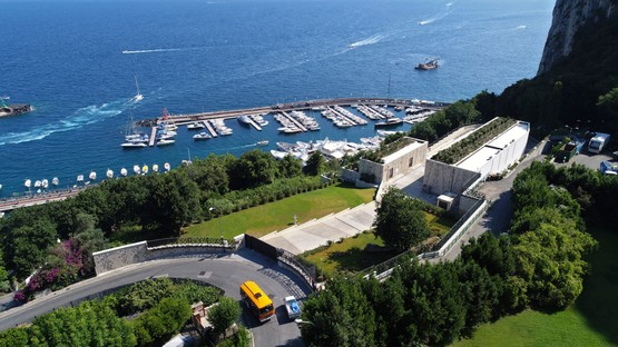 Inauguration de la centrale électrique de Terna à Capri projet de Frigerio Design Group