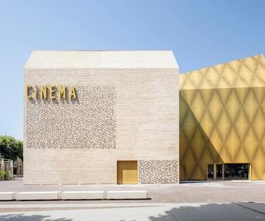 Antonio Virga Architecte Le Grand Palais Cinéma et Espace musée à Cahors