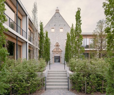 David Chipperfield Architects reconversion et récupération d'un complexe historique - Jacoby Studios Paderborn