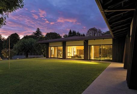 Federico Delrosso Villa Alce à Biella un espace contemporain en pleine nature