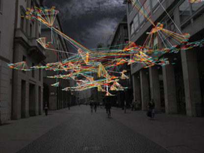 Led - light exhibition design