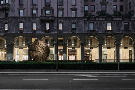 P+F Parisotto + Formenton Architetti re-design Galleria Bolchini Milan