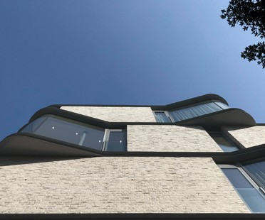 Projet VI Castle Lane : DROO Architecture revisite le bow-window londonien