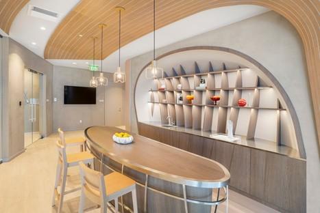 Iosa Ghini Associati design d'intérieur du Brickell Flatiron de Miami