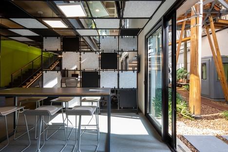 Superlimão les nouveaux bureaux de Populos à São Paulo avec cabane dans l'arbre