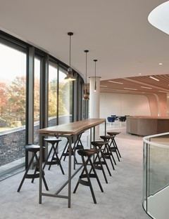 RAU Architects une cathédrale de bois pour la Triodos Bank à Driebergen-Rijsenburg