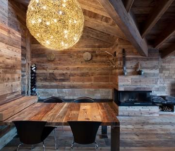 Giuseppe Tortato Architetti Intérieur de montagne, un chalet dans les Alpes