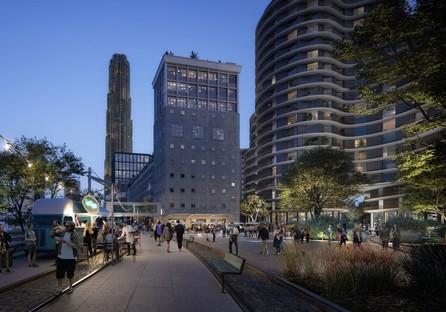 Powerhouse Company avec SHoP Architects, Office Winhov, Mecanoo et Crimson pour le nouveau plan directeur de Rijnhaven Rotterdam