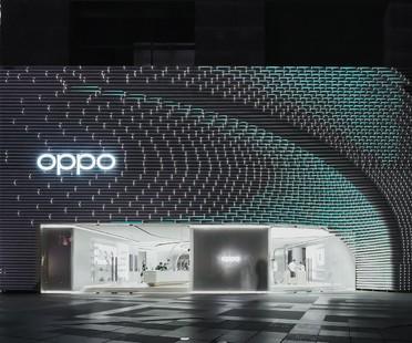 UNStudio flagship store de Oppo à Guangzhou