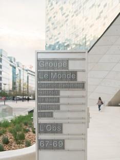 Snøhetta Siège du Groupe Le Monde Paris