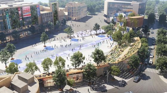 Miralles Tagliabue EMBT remporte le concours pour la requalification de Century Square à Shanghai