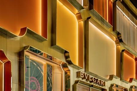 MVRDV termine la façade du magasin phare Bulgari à Bangkok