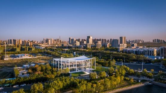 Powerhouse Company Paper Roof nouveau centre civique à Tianjin