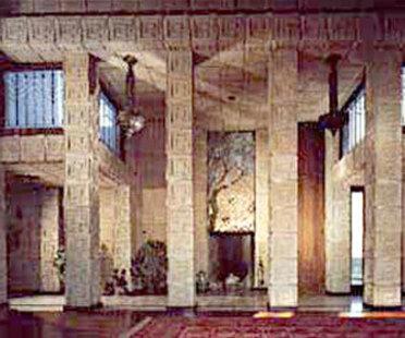 La maison Ennis de Frank Lloyd Wright est à vendre