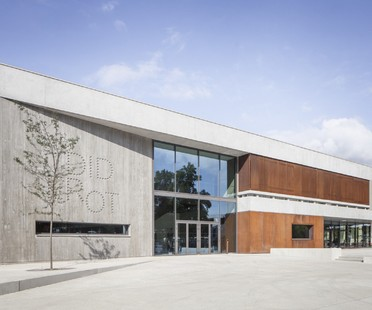 Chapuis Royer Architectes Diderot University Restaurant Grenoble Campus