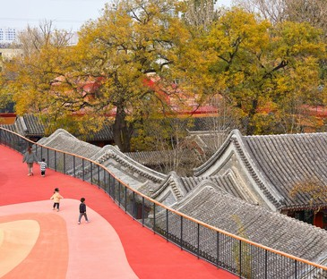 MAD Architects YueCheng Courtyard Kindergarten Pékin