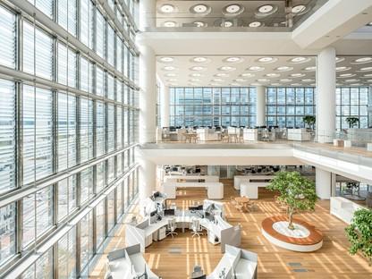 Foster + Partners siège central de Hankook Technoplex à Pangyo, Séoul