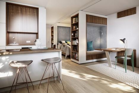 UNStudio et Bauwerk les nouvelles résidences Van B à Munich