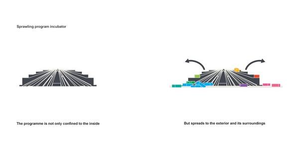 Un second souffle pour la Pyramide de Tirana, lancement du projet de MVRDV