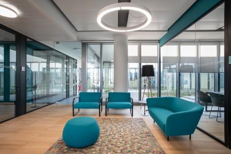 Frigerio Design Group nouveau siège Zamasport Novare