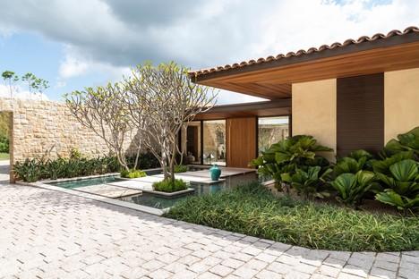 Gilda Meirelles Arquitetura EQ House matières nobles pour une maison en plein cœur de la nature