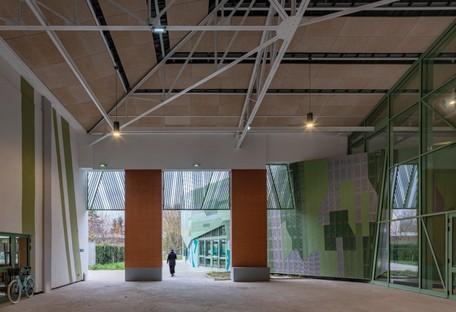 cabinet Miralles Tagliabue EMBT Le Pavillon de Romainville