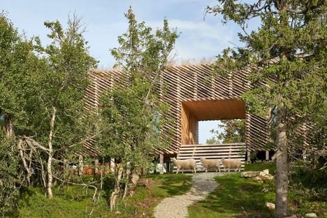 Mork-Ulnes Architects Skigard Hytte vivre en plein cœur de la nature norvégienne