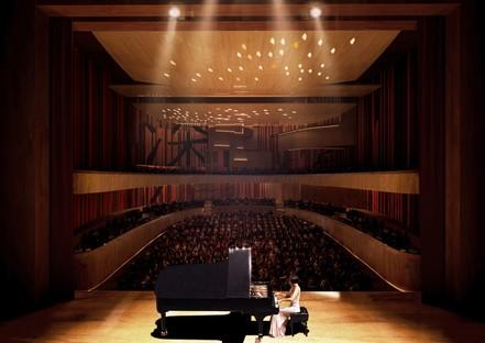 Miralles Tagliabue EMBT remporte le concours pour le conservatoire de musique de Shenzhen.