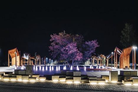 Pavillon Estonie exposition Square! Positively shrinking à la Biennale Architecture Venise 2021