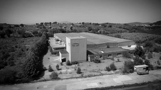 Progetto REb récupère une ancienne fabrique de pâtes pour le siège de Talenti à Amelia