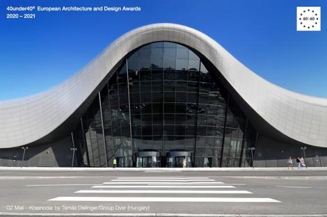 Architectes émergents Les lauréats des Europe 40under40® Award