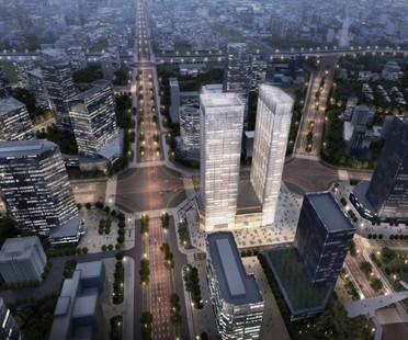 Studio Marco Piva Tonino Lamborghini Towers Chengdu Chine