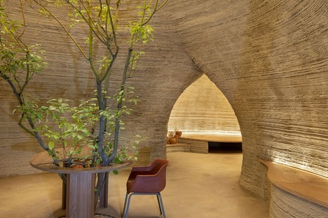Mario Cucinella Architects TECLA maison éco-durable imprimée en 3D en terre crue