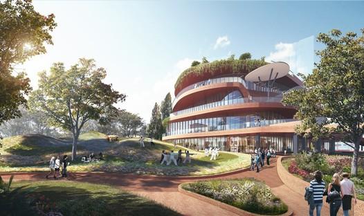 MVRDV: la construction des Shenzhen Terraces a débuté