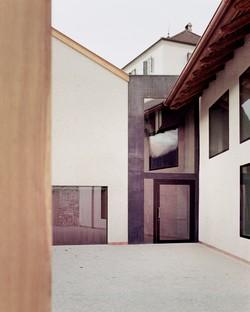 MoDusArchitects inauguration de la nouvelle entrée et de l'extension du Musée de l'abbaye de Novacella.