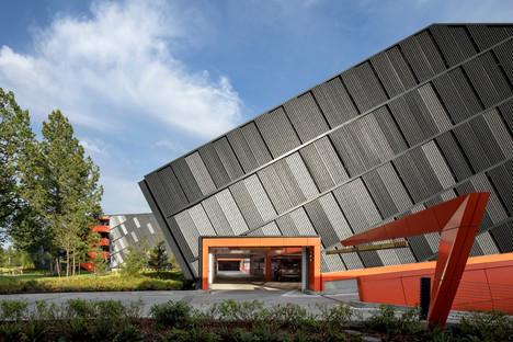SRG Partnership imagine le NYC Garage de la Nike World Headquarters dans l'Oregon