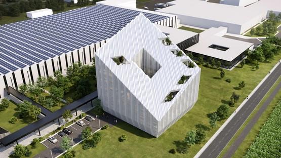 Le projet lauréat pour Bonfiglioli Headquarters est signé Peter Pichler Architecture + ARUP