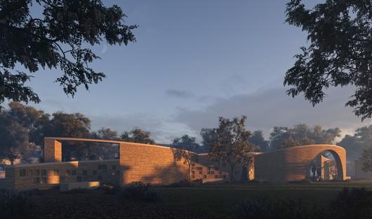 Form4 Architecture: Intertwined Eternities, un colombarium à Aptos, Californie
