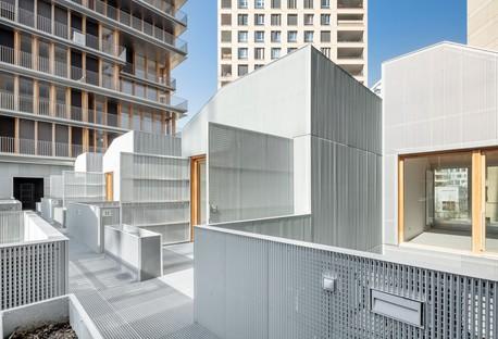 Moussafir Architectes & Nicolas Hugoo Architecture Bâtiments à usage mixte à Paris