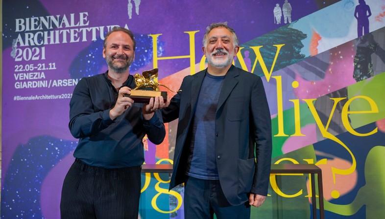 Prix et Lions d'or de la 17e Exposition Internationale d'Architecture de Venise