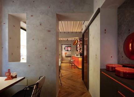 Vudafieri-Saverino Partners Interior Design pour Terrazza Aperol à Venise
