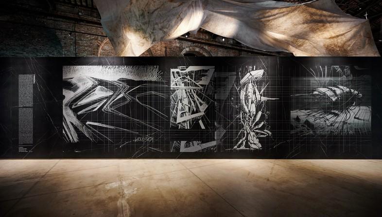 Comunità Resilienti, Architettura come caregiver dans l'installation Cyberwall à la Biennale de Venise