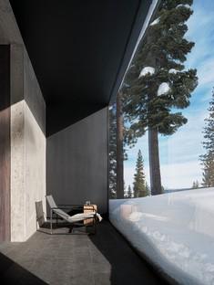 Faulkner Architects Lookout House, une maison minimaliste dans la Sierra Nevada