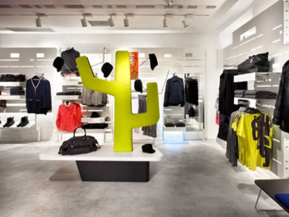 H&M shop, Barcelone - Agence Mariscal