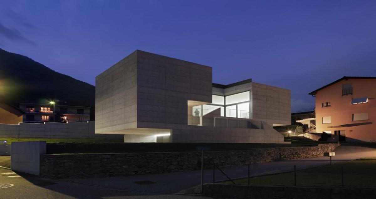 Maison a lumino de macullo architects suisse floornature - Maison campagne suisse fovea architects ...