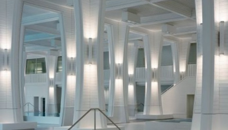 Tamina thermal baths suisse floornature for Agence architecture suisse